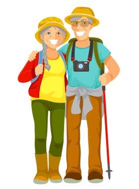 senior travellers