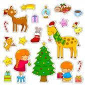 Fotografia Accumulazione del fumetto di Natale