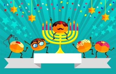 festive design for Hanukkah