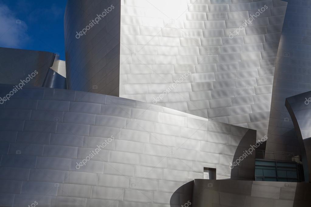 Los angeles 26 luglio: walt disney concert hall nel centro il 26