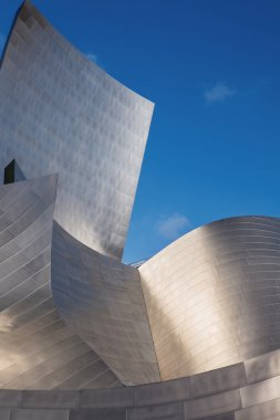 LOS ANGELES - JULY 26: Walt Disney Concert Hall in downtown Los Angeles on July 26, 2015  design by architect Frank Gehry.