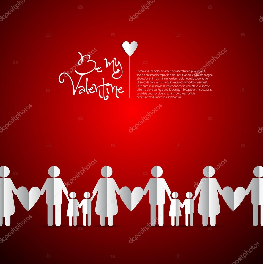 Happy Valentinstag — Stockvektor © matju78 #61272143
