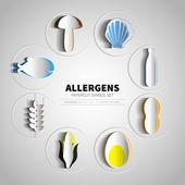 Set für Papercut Allergene Produkte