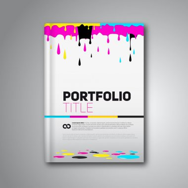 Magazine cover & poster template