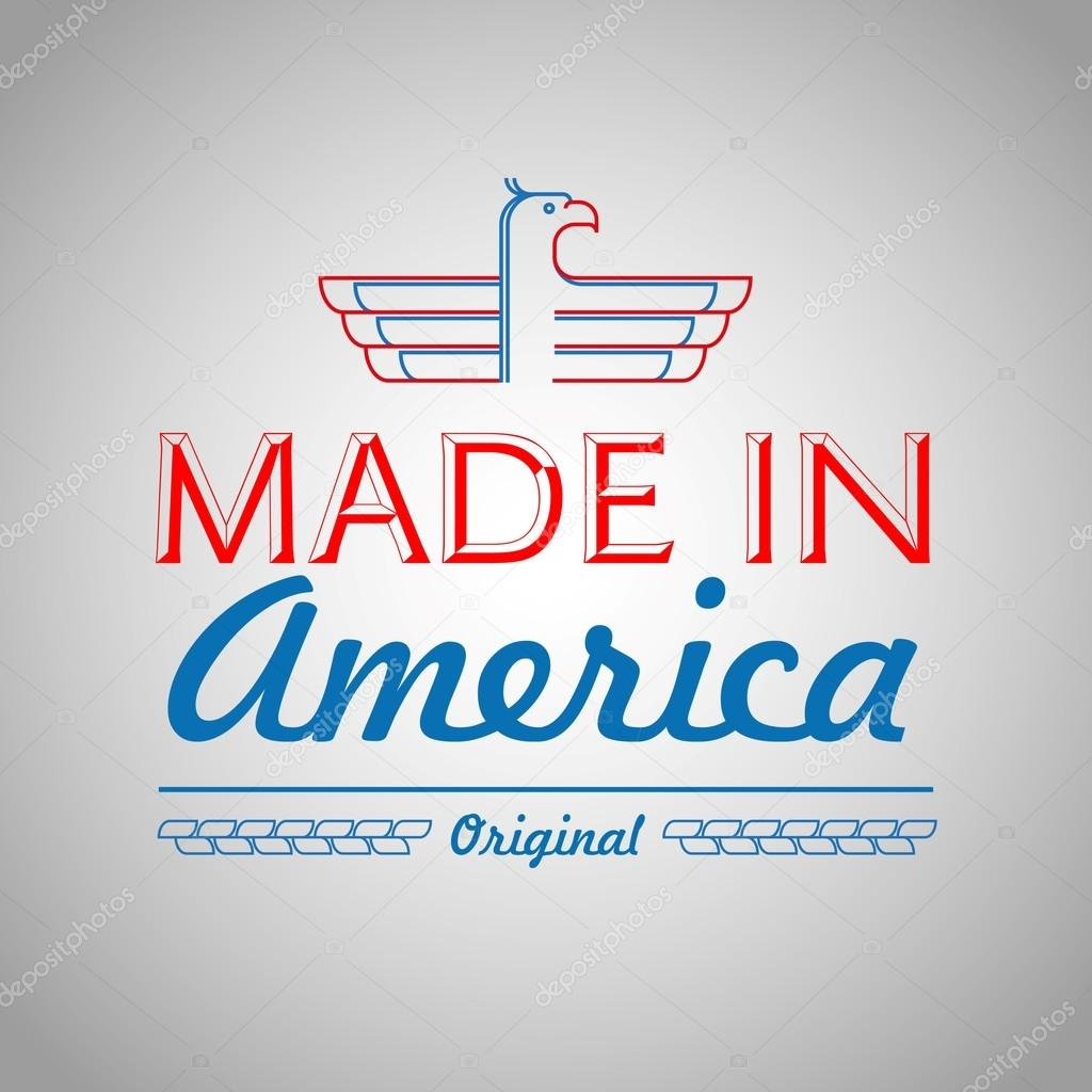 Made in the usa symbol with american color stock vector made in the usa symbol with american color stock vector buycottarizona