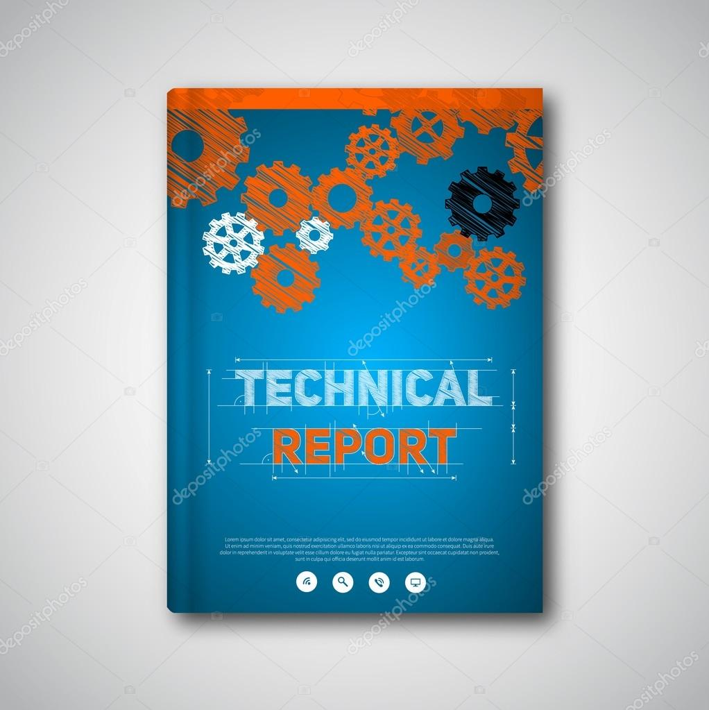 technical brochure template