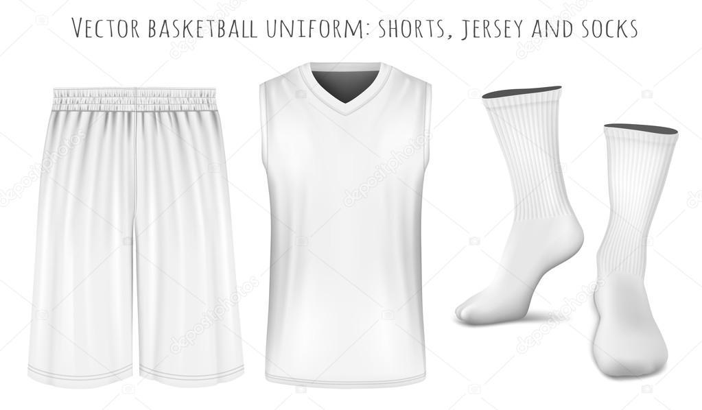 Basketball-uniform Vektor Vorlagen — Stockvektor © ivelly #115829322