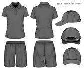Photo Men sport clothes