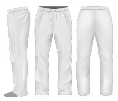 Men sweatpants white.