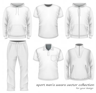 Sport men wear collection.