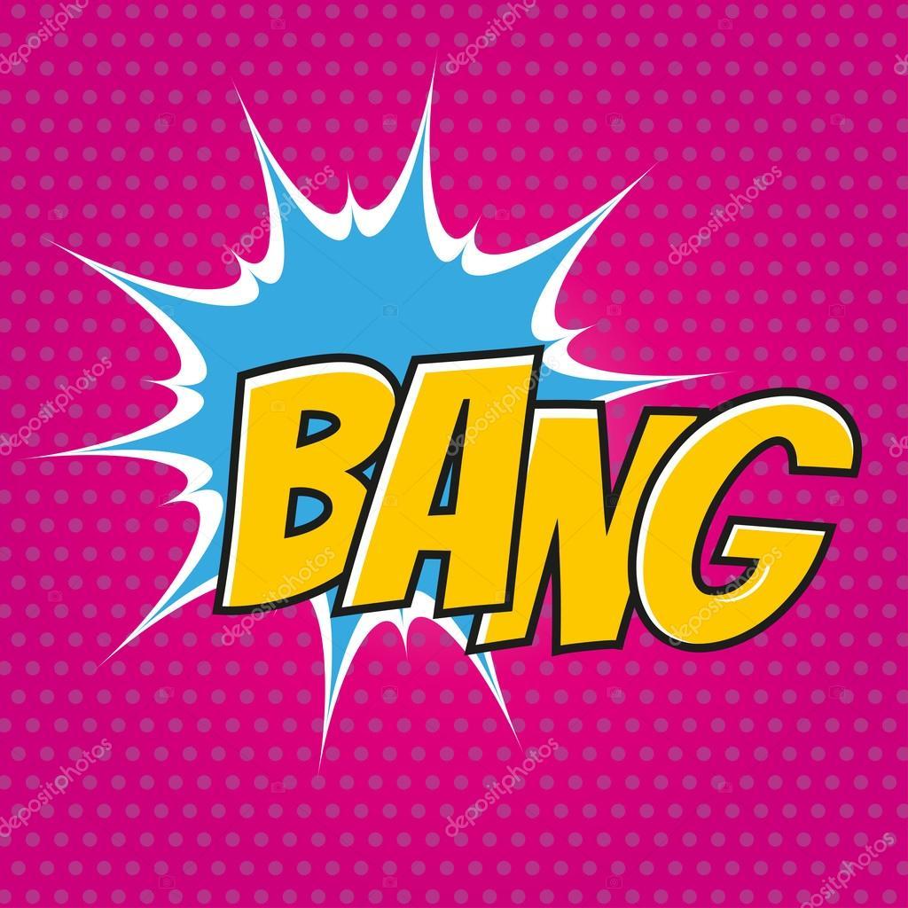 Cartoon Bang In Pop Art Stock Vector C Shockfactor De 99742416