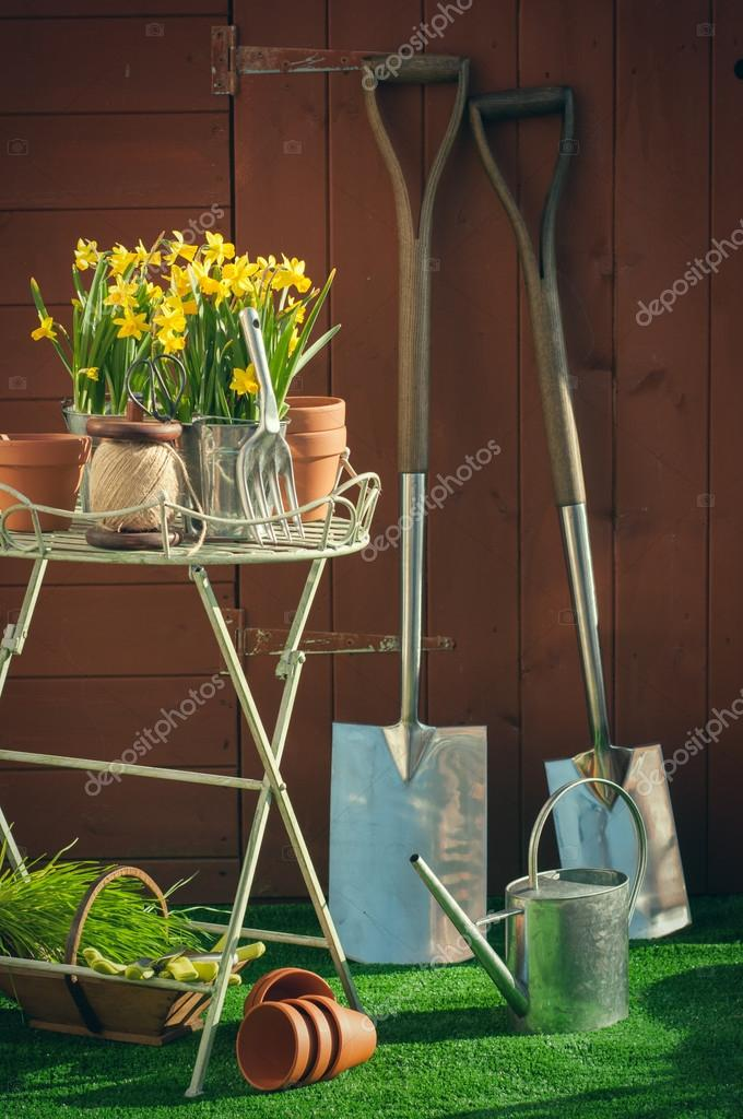 Gardening Time Concept
