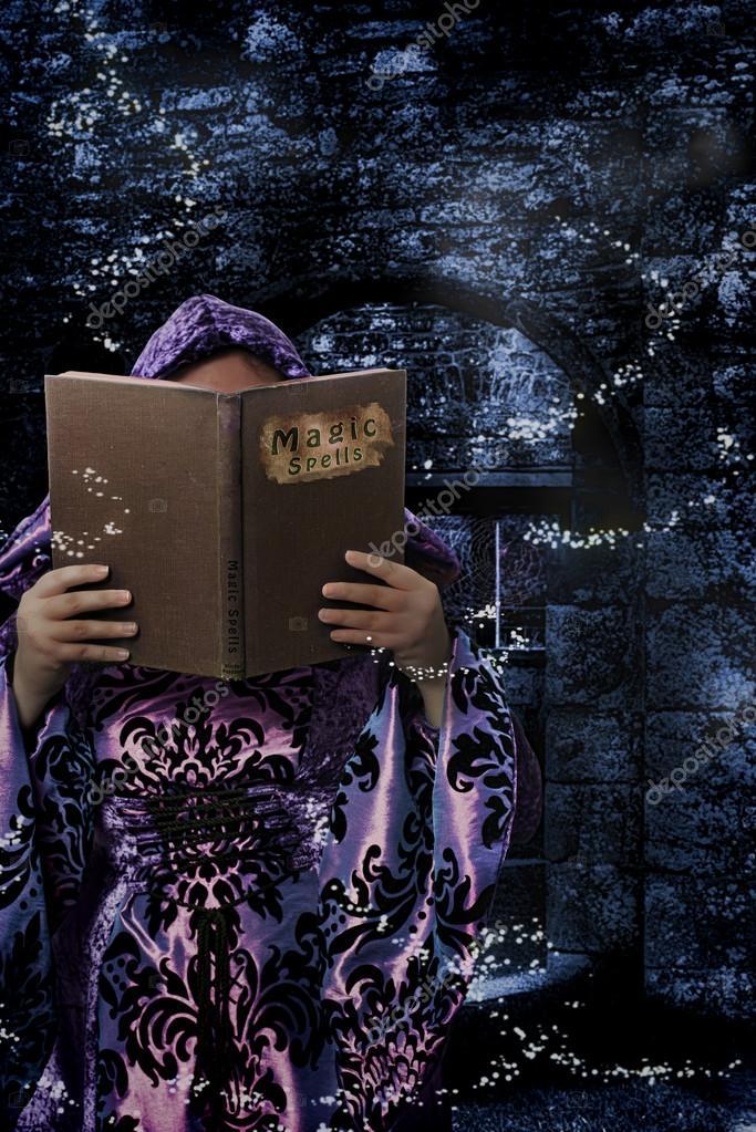 Magic Spells Book — Stock Photo © springfield #69927141