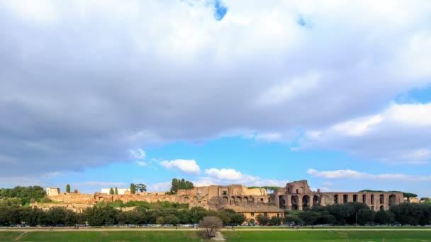 Ruiny Palatine paláci v Římě