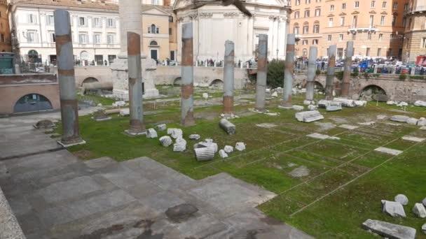 forum traiano, roma, italien