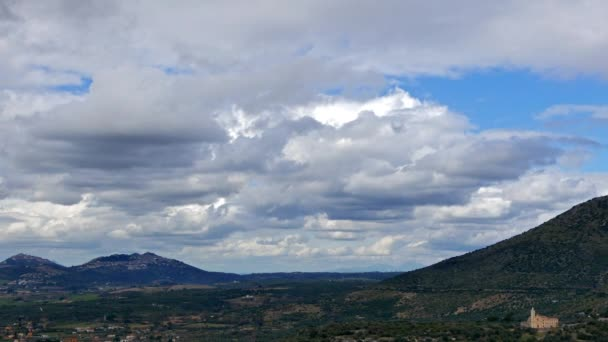 panorama vom tivoli aus. Wolken