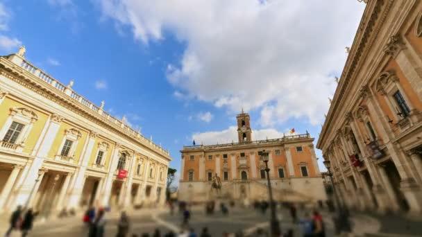 Piazza del Campidoglio, Řím, Itálie