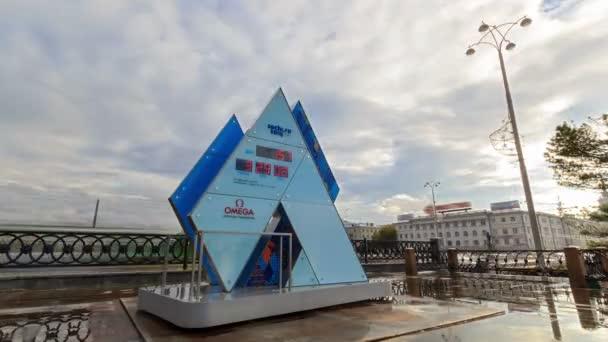Hodiny olympijské hry v Soči