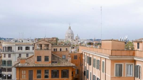 Dome of Rome, view from Spanish Steps