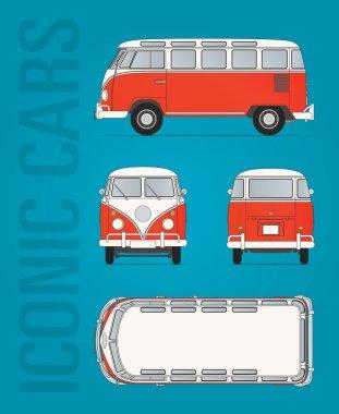 Volkswagen T1 vector file