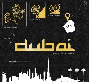 Dubai vector set