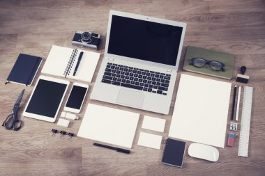 Letterhead, logo and webdesign mockup