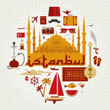 Vector file of Istanbul