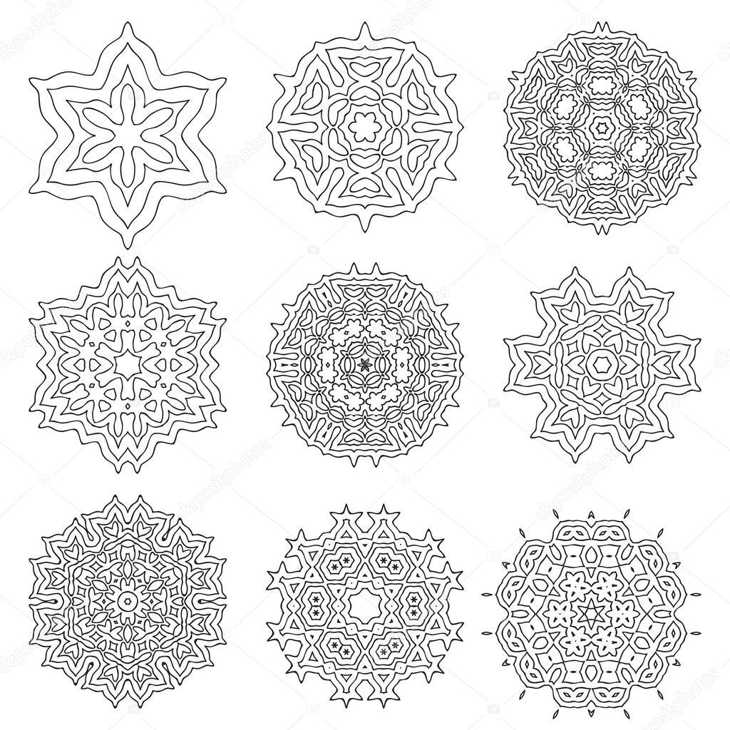 Motivo Geometrico Colorato Di Semplice Vettoriali Stock C Ansim