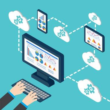 Analytics and programming, web application optimization.
