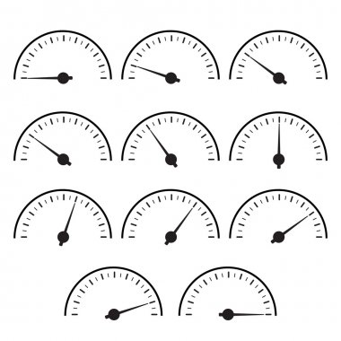 Temperature gauge set