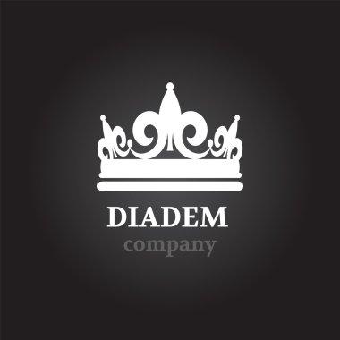 Diadem silhouette icon