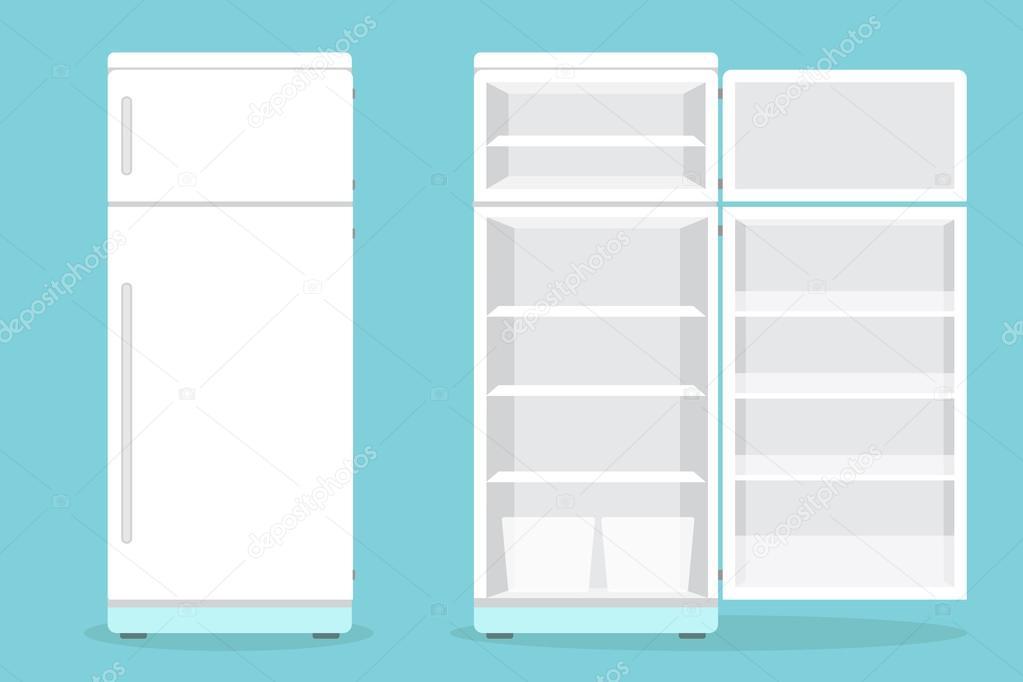 картинки открытого холодильника пустого картины