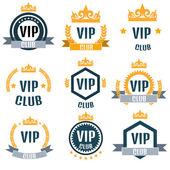 VIP club logók szett