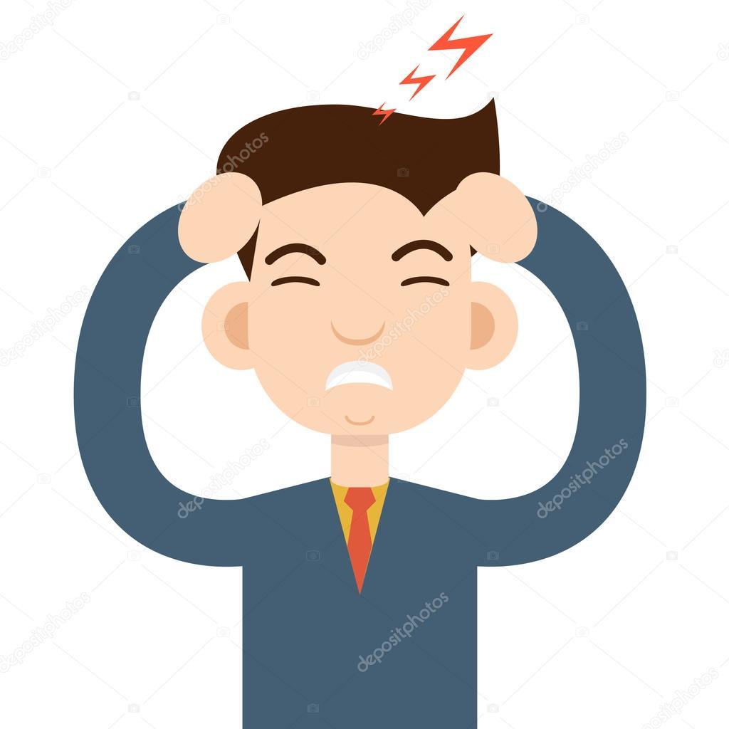 hoofdpijn aanval