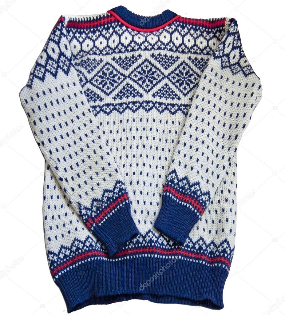 Cerca de sweater nórdico — Foto de stock © gameover2012 #57469713