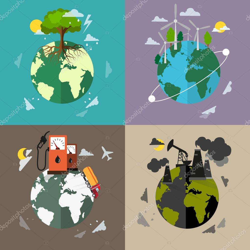 environmental pollution and conservation