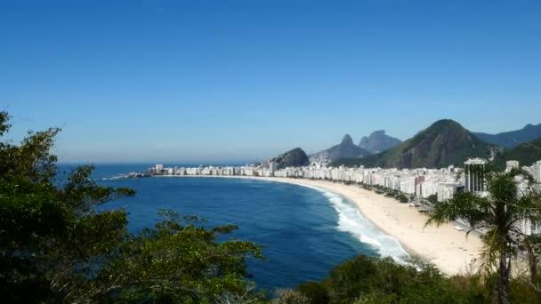 pláži Copacabana v rio de janeiro