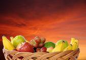 Fresh fruits busket
