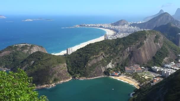 erial na pláži v Rio de Janeiru