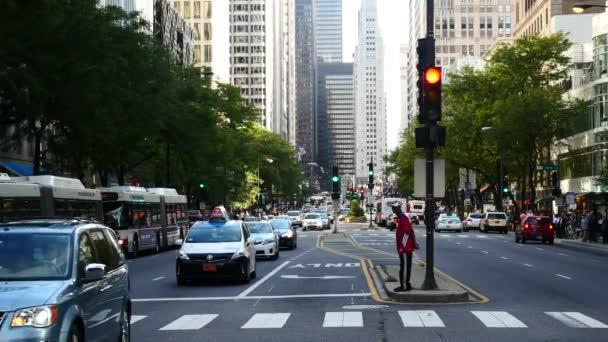 Michigan Avenue v centru Chicaga