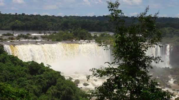 The Iguazu Falls view