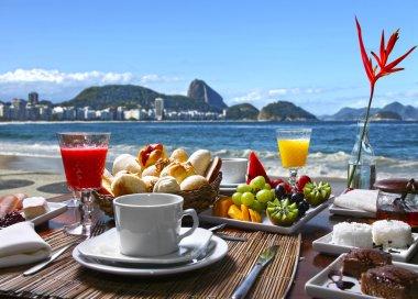 Breakfast in Rio de Janeiro