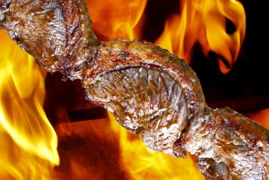 Traditional Brazilian barbecue.