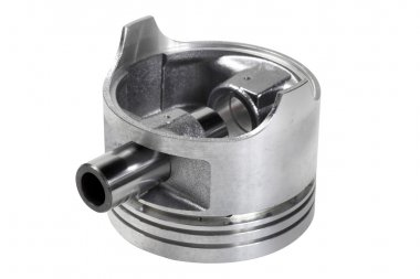 automotive piston isolated
