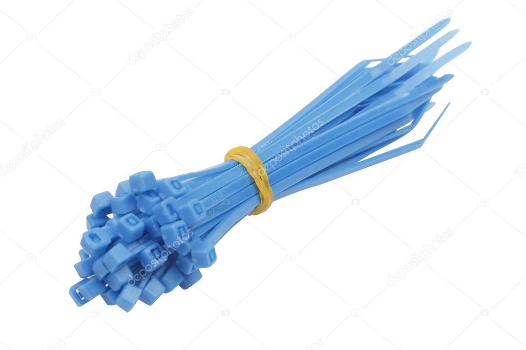 Blaue Kunststoff Verbindungen Stockfoto Maksimka3738