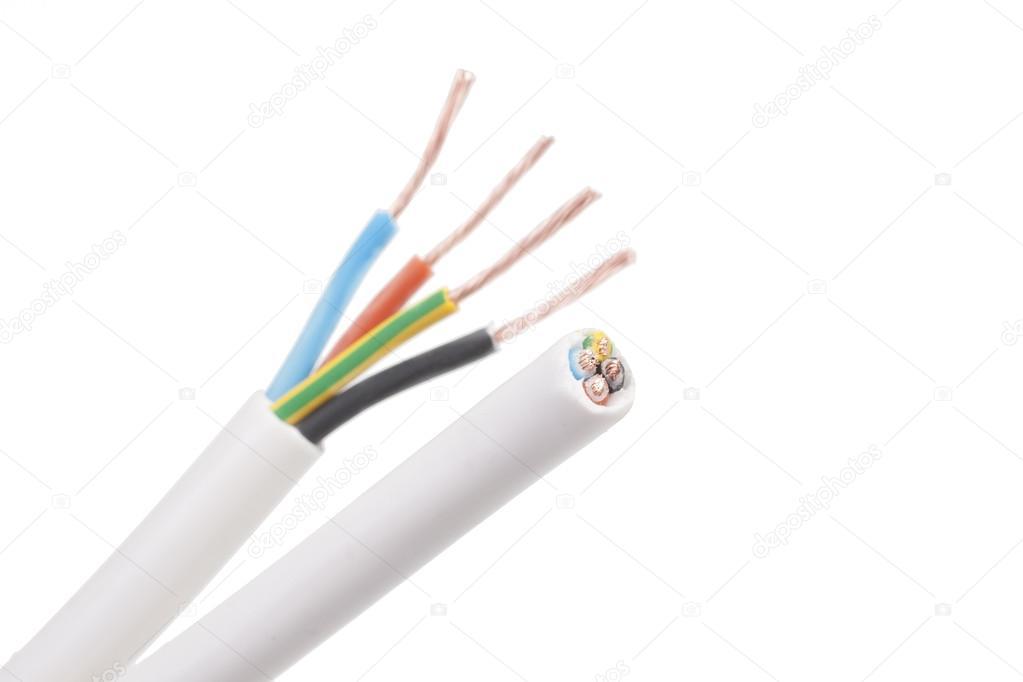Nett Elektrische Kabel Durch Nieten Laufen Zeitgenössisch ...