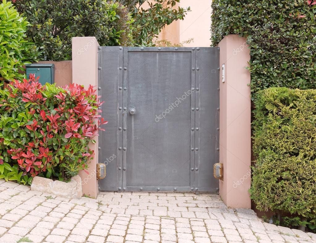 Faszinierend Moderne Hauseingänge Das Beste Von Elegante Eingang, Nördlichen Vororten Von Athen —
