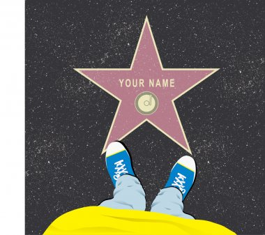 Walk of Fame Vector Template