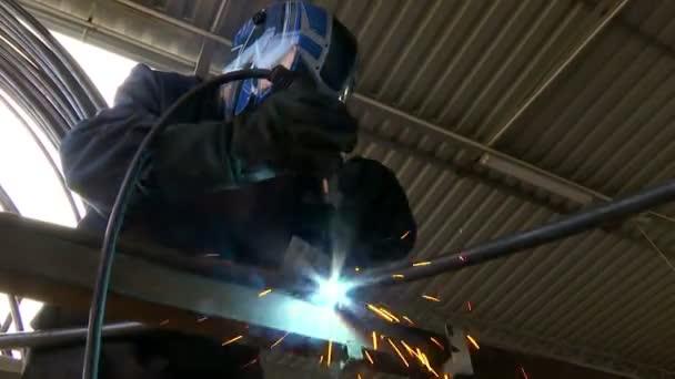 Gasschweißen Metallkonstruktion