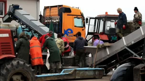 Pracovníků odvětví rybolovu